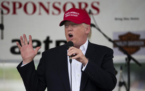 Presumptive GOP presidential nominee Donald Trump has sharply increased his fundraising schedule. (Associated Press)