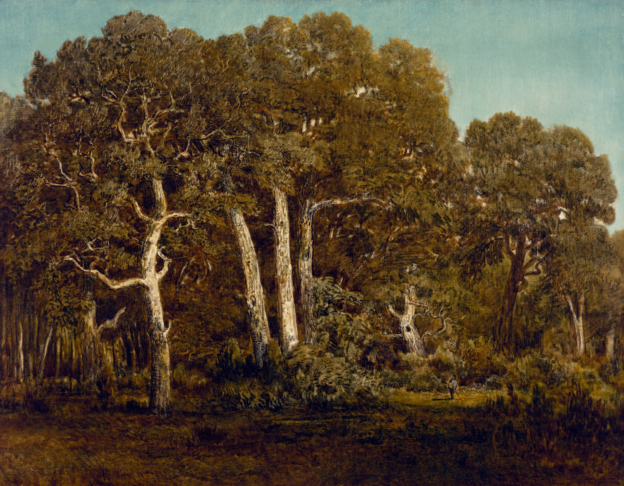 Getty exhibition makes a case for the enduring power of ... Theodore Rousseau