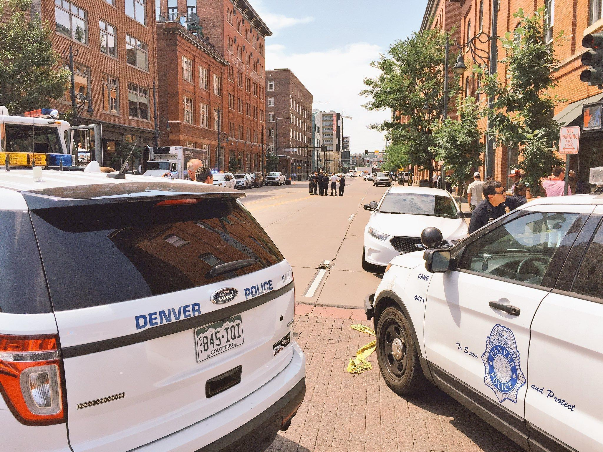 Gunman shoots woman in Denver office building, then kills himself