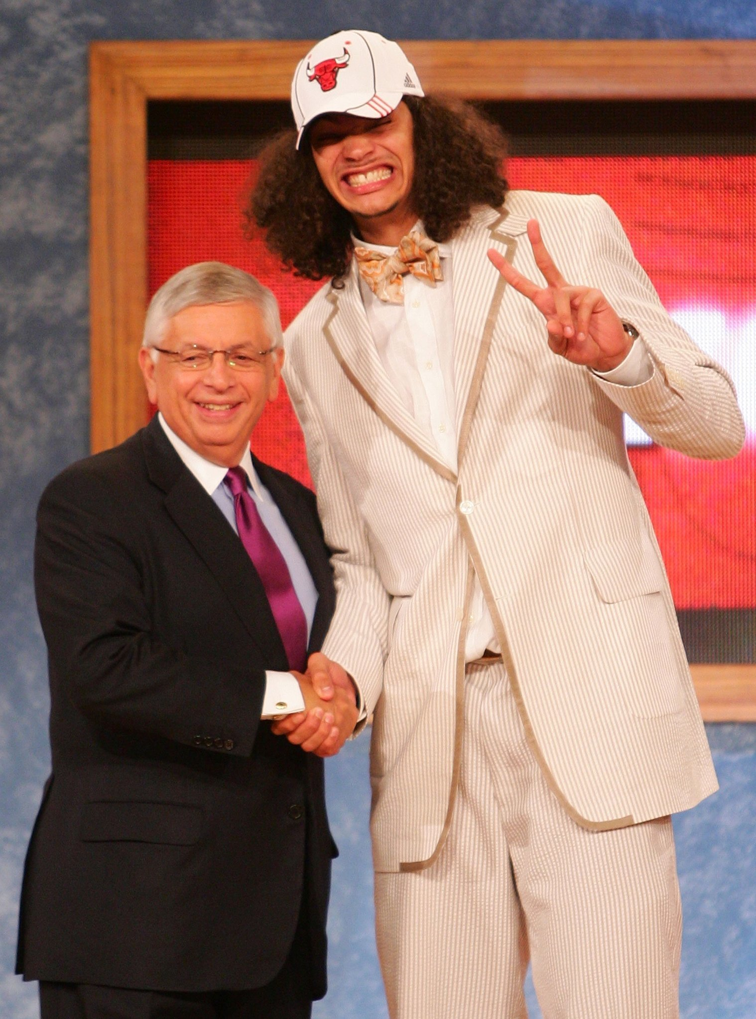 2007 Nba Draft Bulls Couldn T P On Joakim Noah An Energetic Proven Winner Chicago Tribune