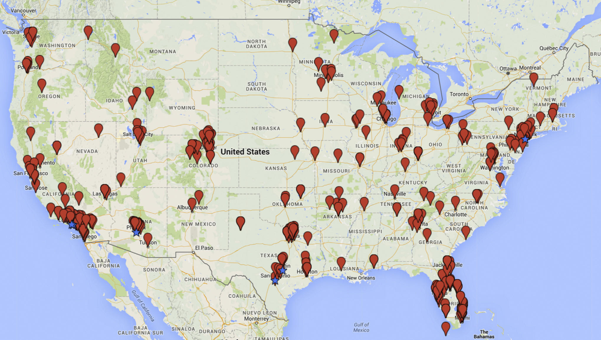 Hundreds Of Companies In The US Are Selling Unproven Stem Cell - Fda map of us