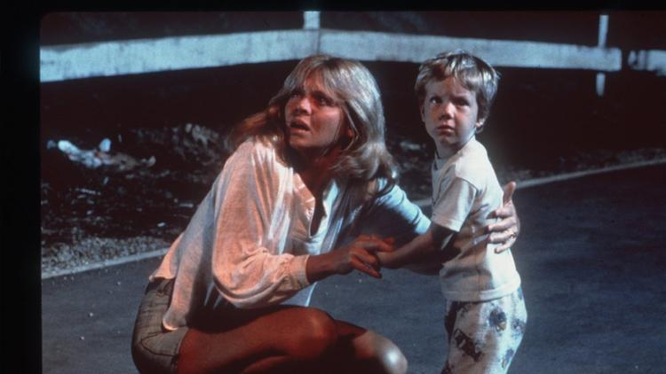 "Melinda Dillon and Carey Guffey in a scene from the 1977 sci-fi thriller ""Close Encounters of the Third Kind."" (Sony Pictures)"