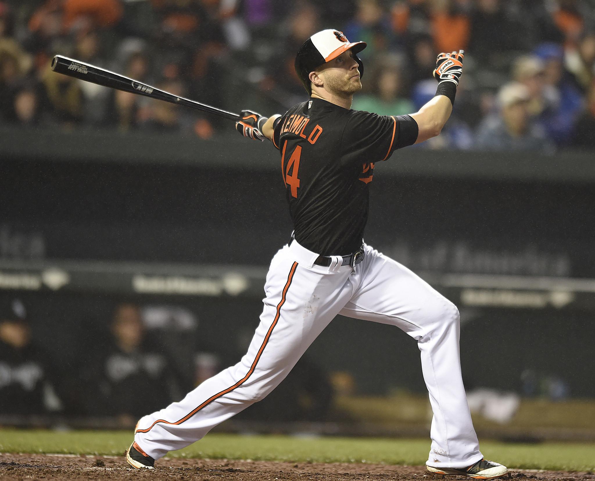 Orioles spotlight: Outfielder Nolan Reimold