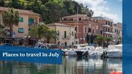 Best places to travel in July