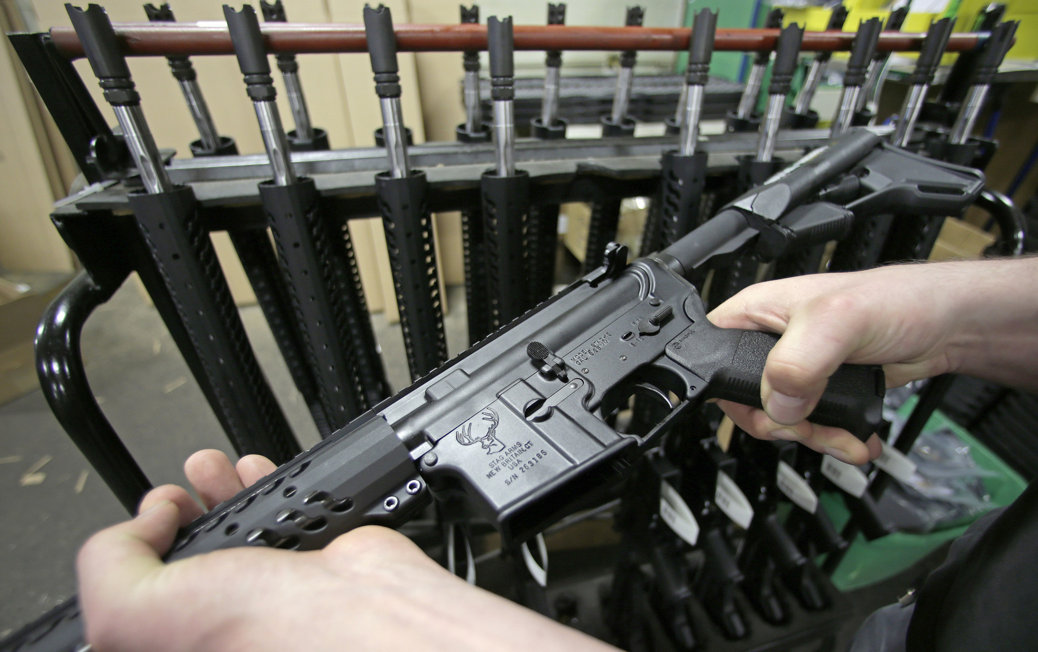 McHenry gun shop to raffle off AR-15 rifle to benefit Orlando shooting victims