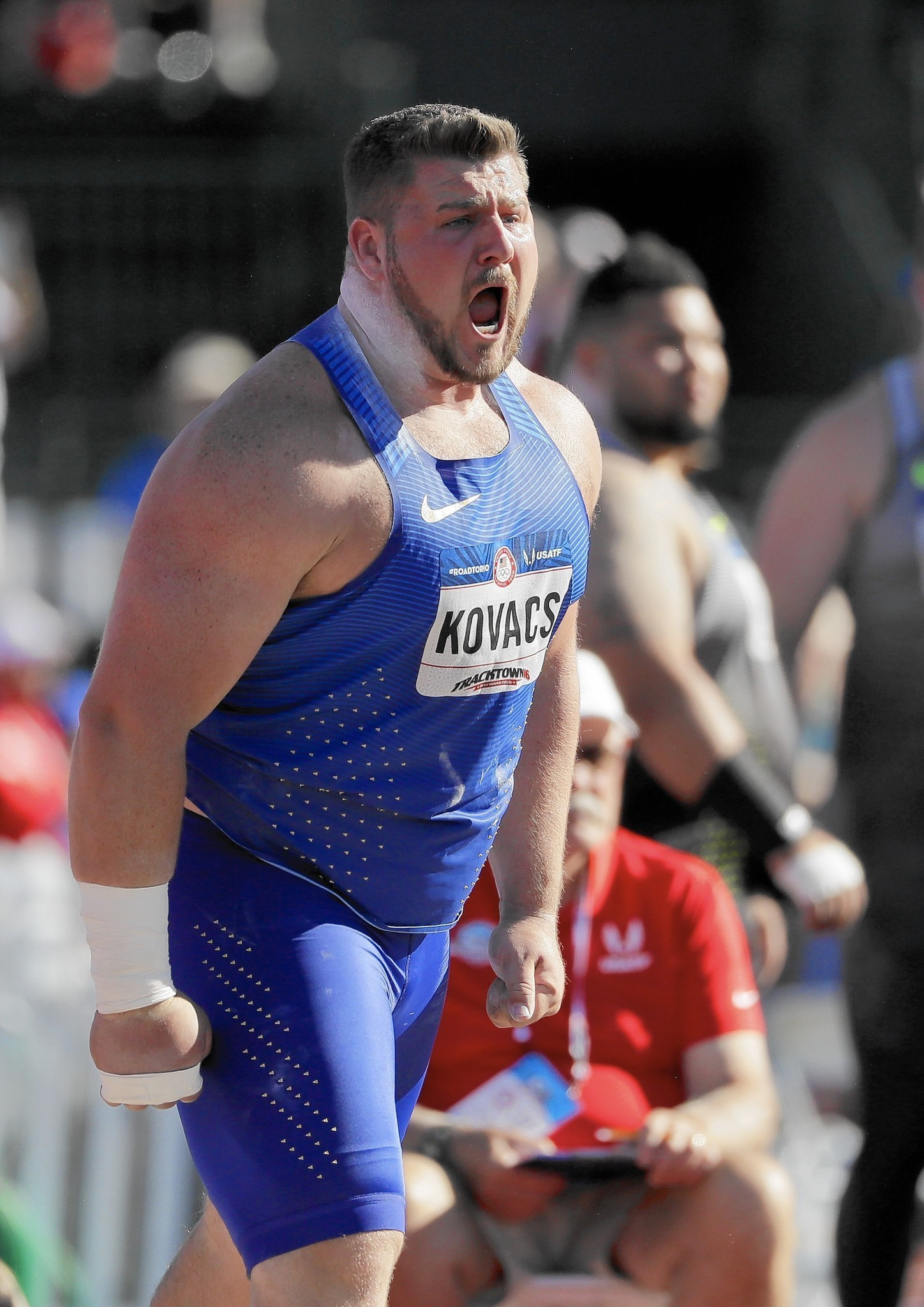 how to be good at shot put