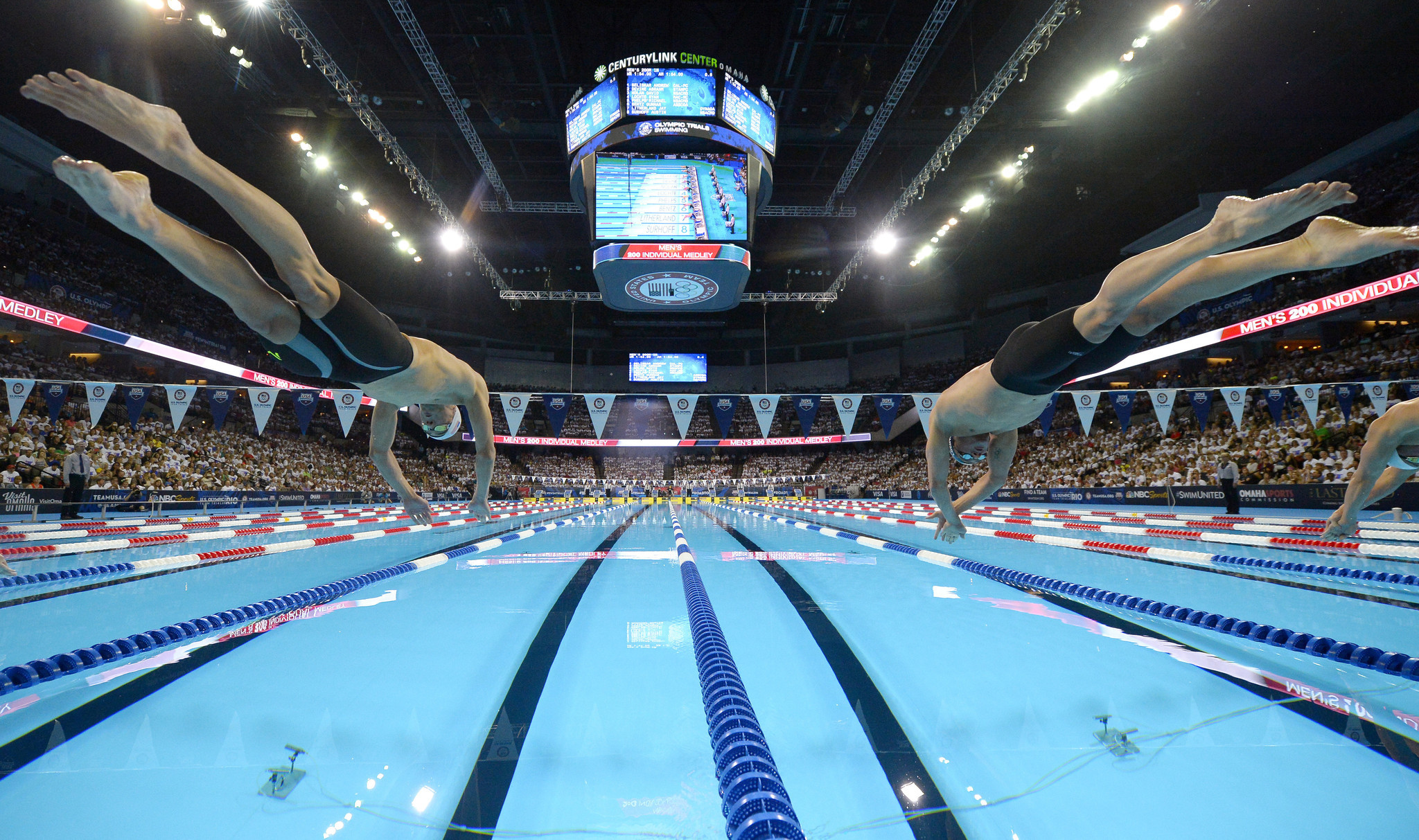 five things we learned from olympic swimming trials baltimore sun - Olympic Swimming Pool 2016