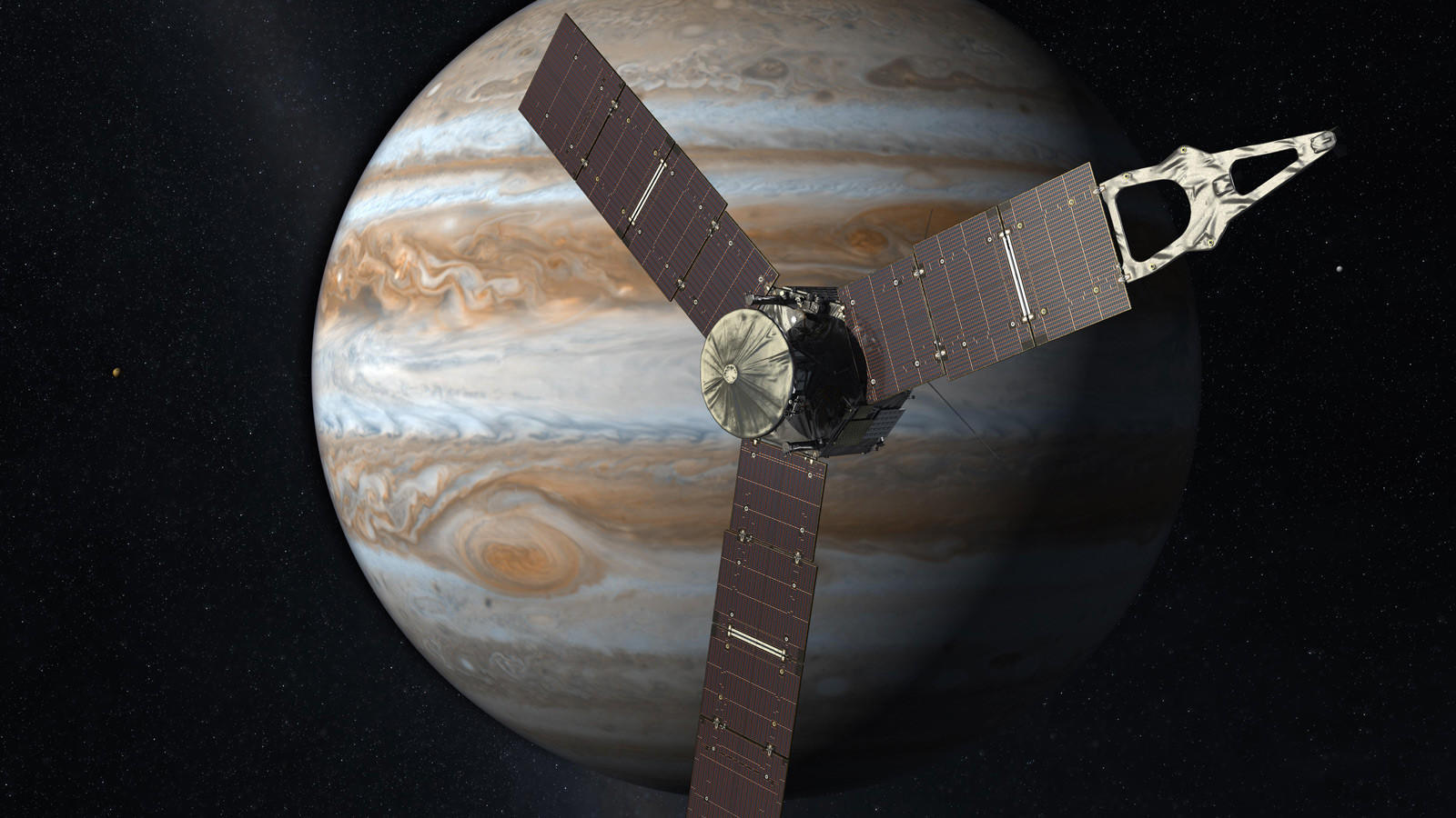 As it closes in on Jupiter, NASA's Juno spacecraft faces peril