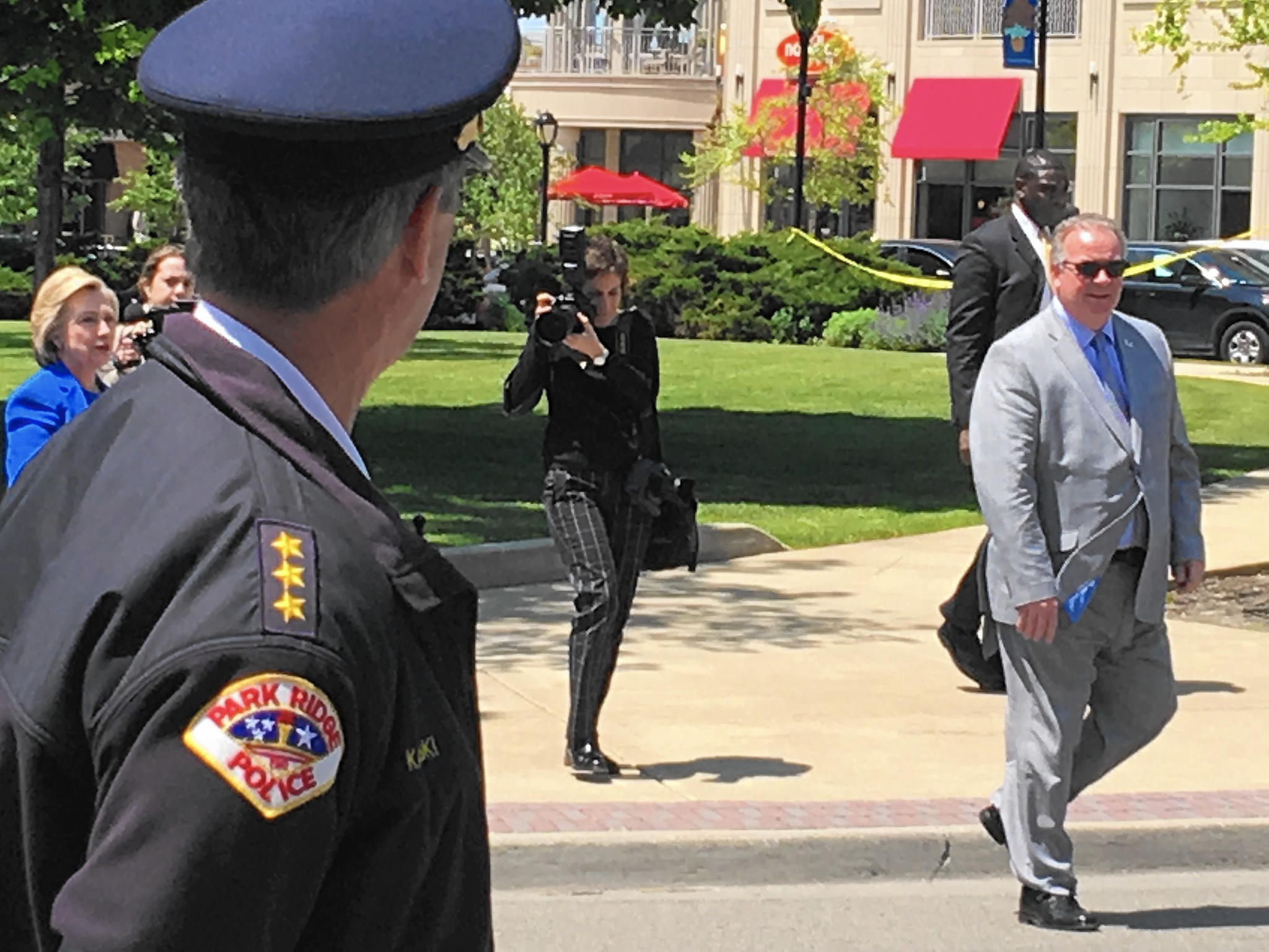 Police Costs For Clinton Visit To Park Ridge Under 2 000
