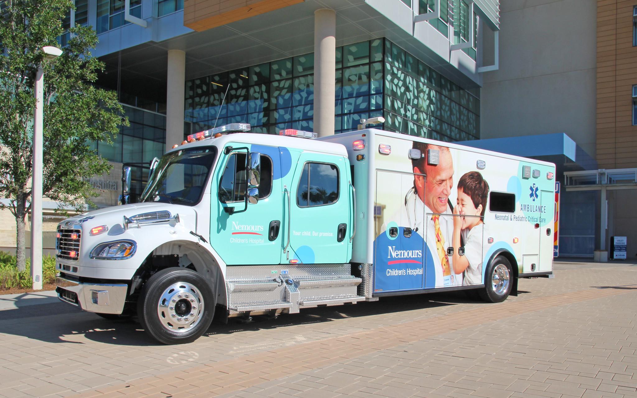 Nemours Buys A Critical Care Ambulance Orlando Sentinel