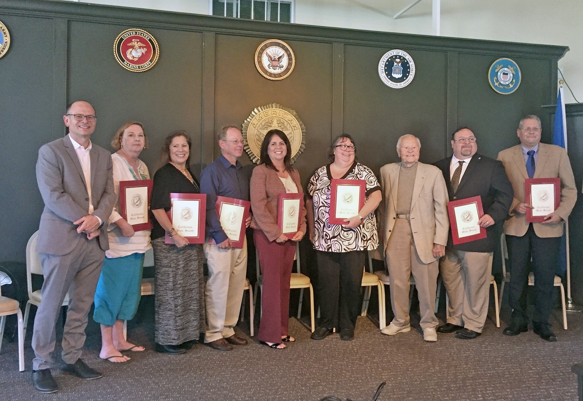 Community clubs american legion honors community service daily pilot