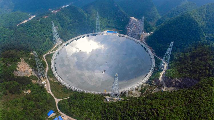 China radio telescope