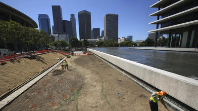 Downtown L.A.'s five-year rain total is lowest ever recorded