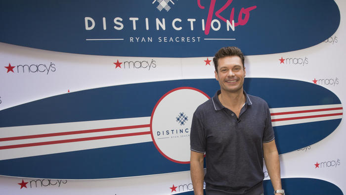 Ryan Seacrest launched men's sportswear collection called Rio Distinction before the Olympics Games in Rio de Janeiro in August.