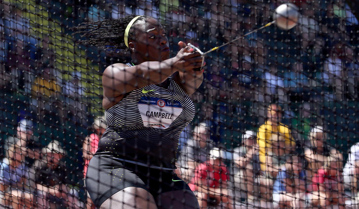 Hammer is given the spotlight at Olympic trials