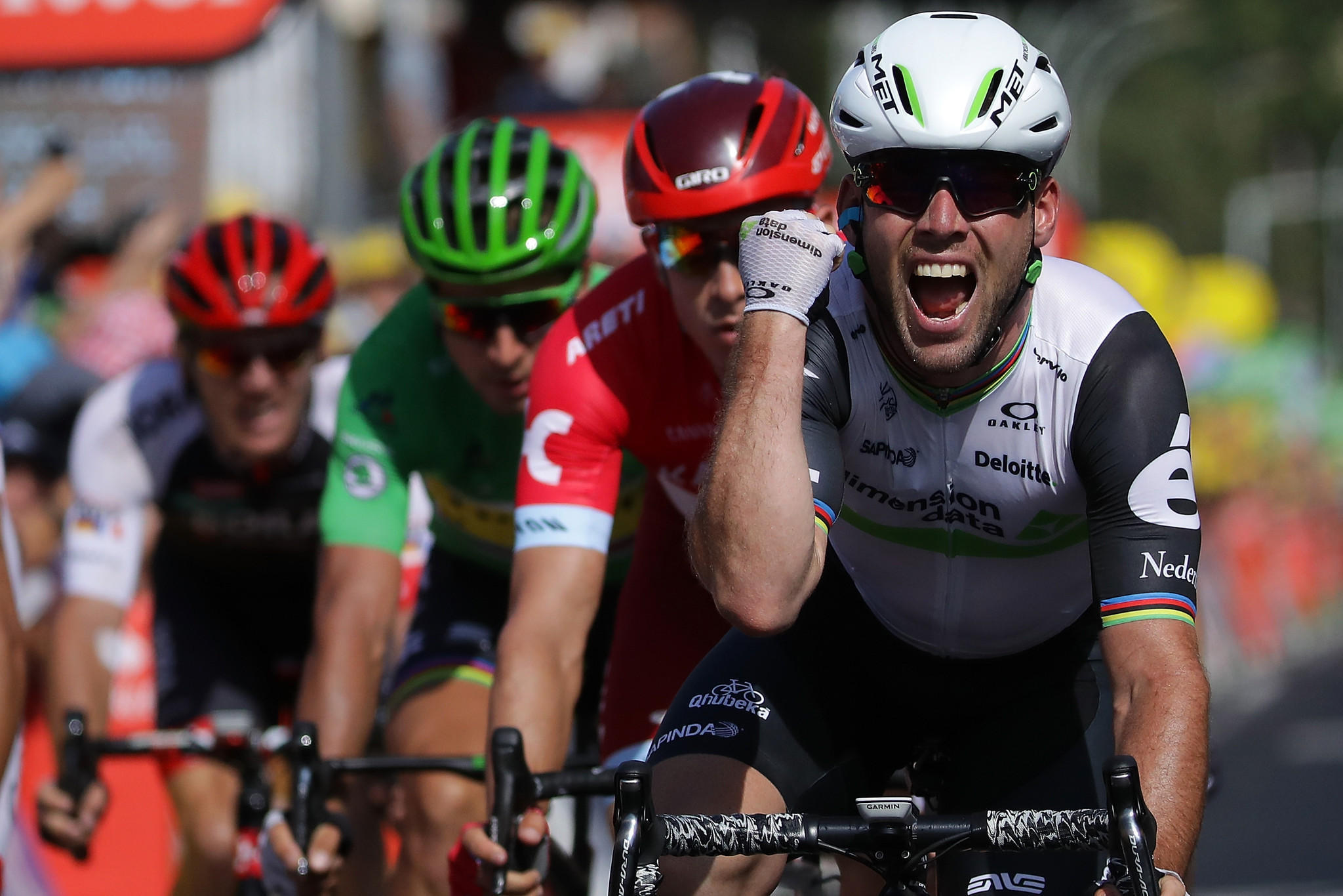 British sprinter Mark Cavendish wins Tour de France Stage ...