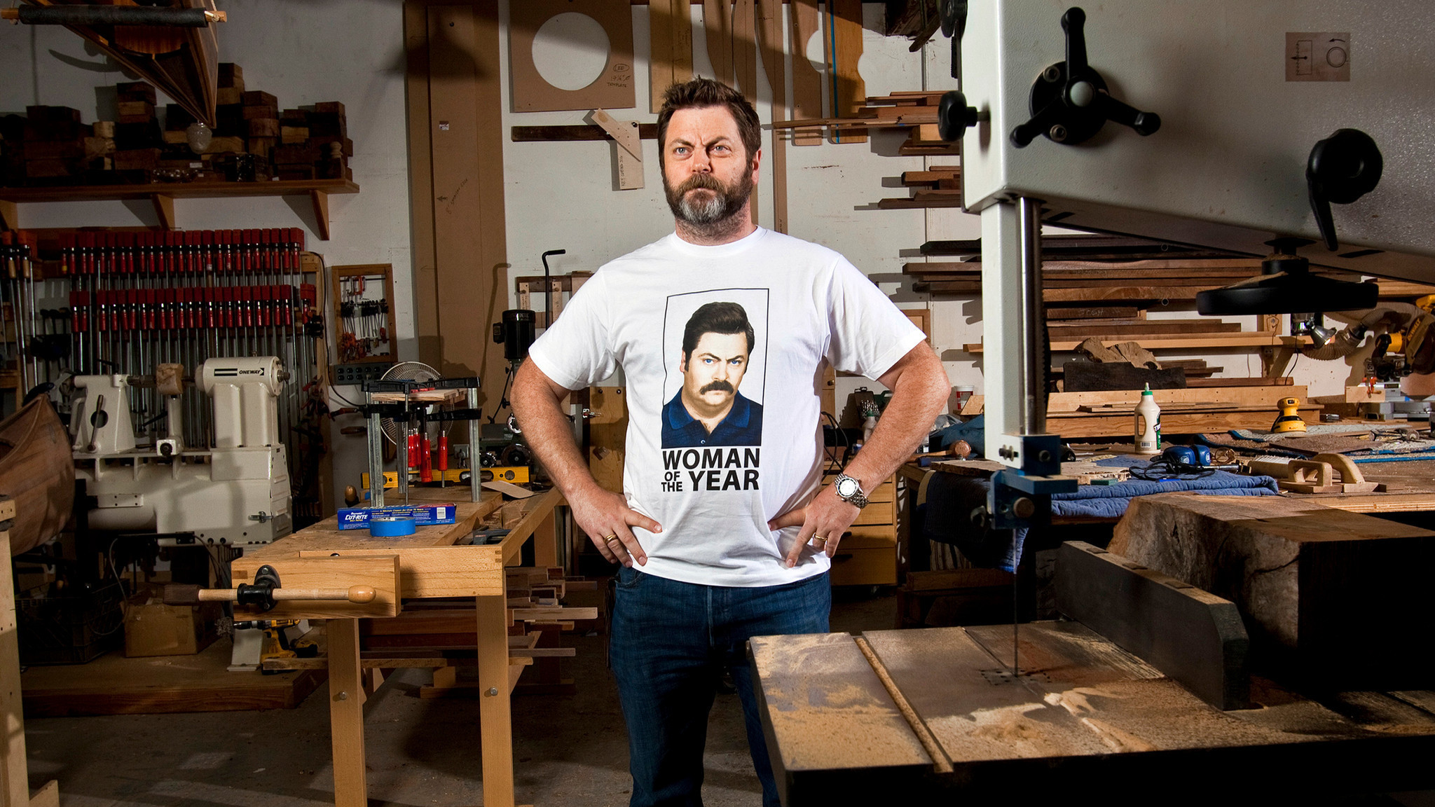 nick offerman on great scam artist tom sawyer and his favorite nick offerman on great scam artist tom sawyer and his favorite writers la times