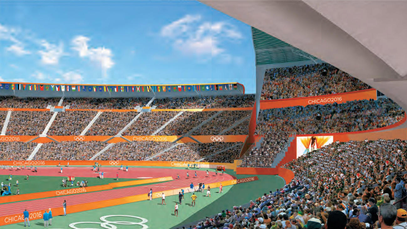 Chicago S Bid For The 2016 Olympic Games Venue Locations