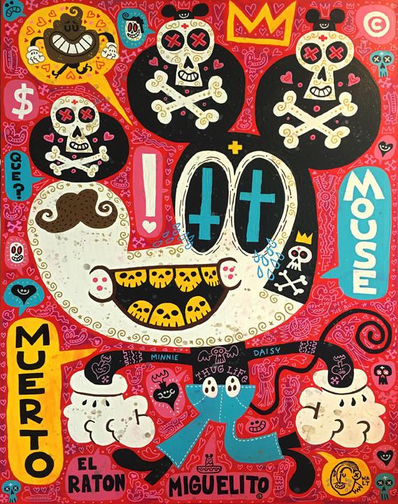 """Jorge Gutierrez's """"Super Muerto Mouse."""""""