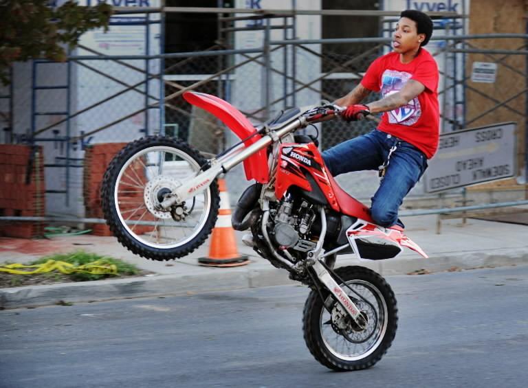 Cavaliers Dirt Bike Freestyle Baltimore