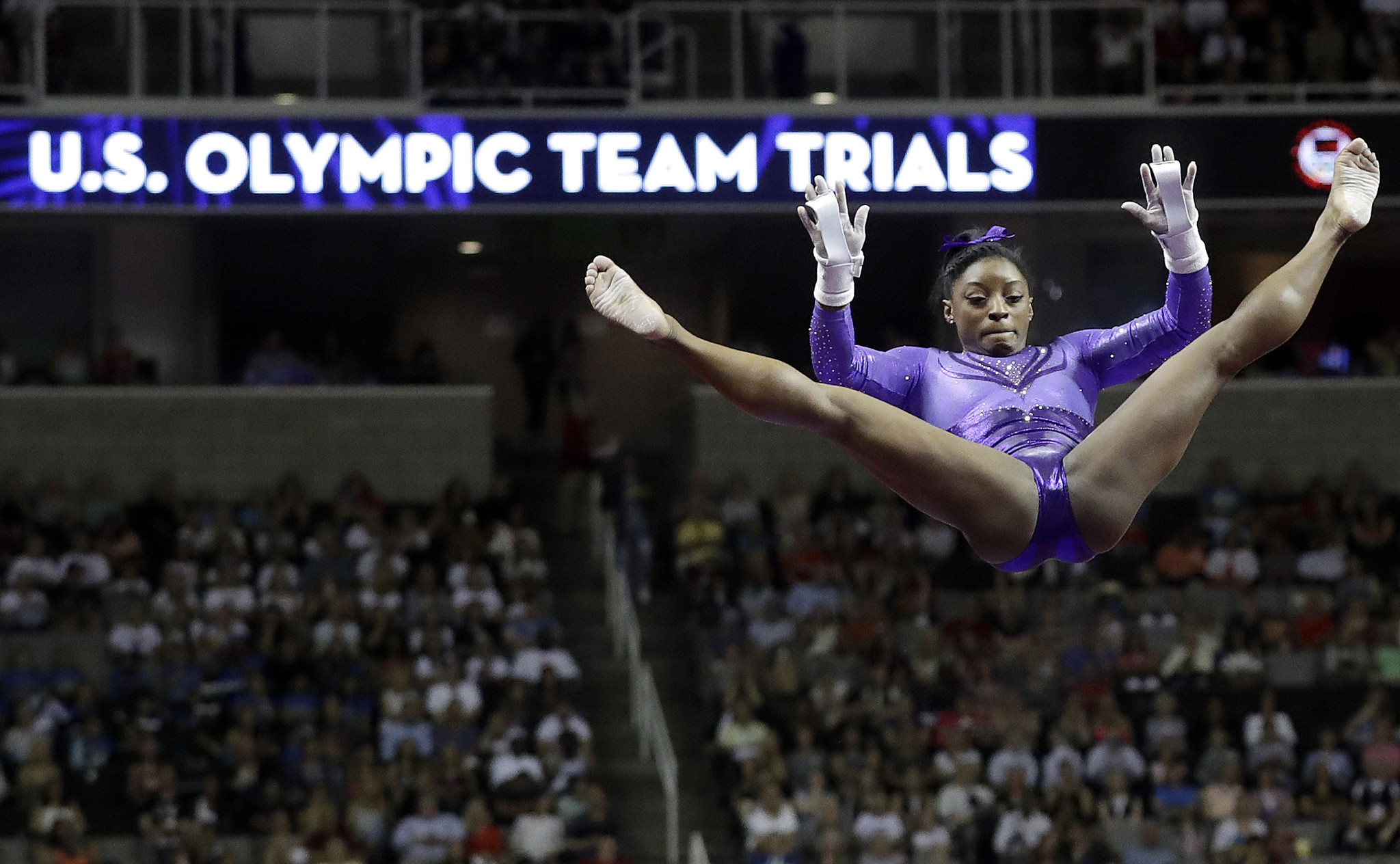 Simone Biles On Top After First Day Of Olympic Trials