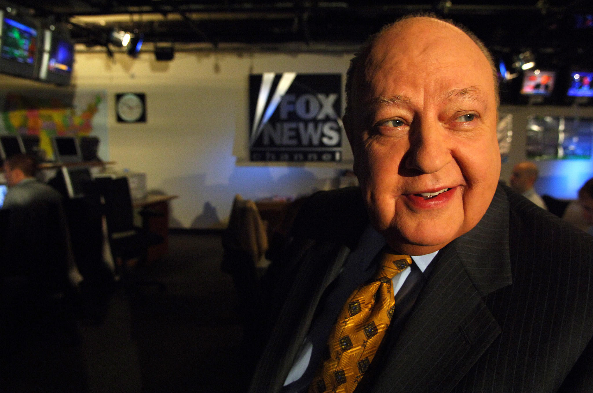 Roger Ailes in 2006 (Jennifer S. Altman / For The Times)