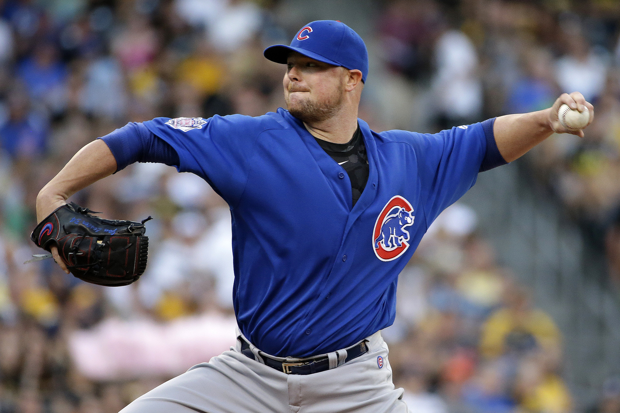 Cubs Jon Lester Trail Pirates 7 5 In 5th Baseball