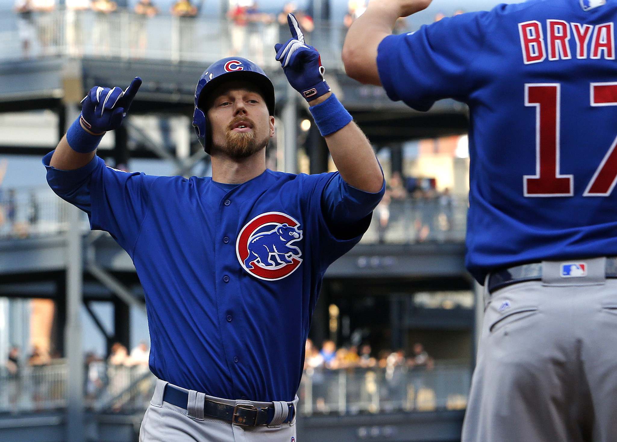 After Cubs play 24 games without a day off, Ben Zobrist seeks new rule