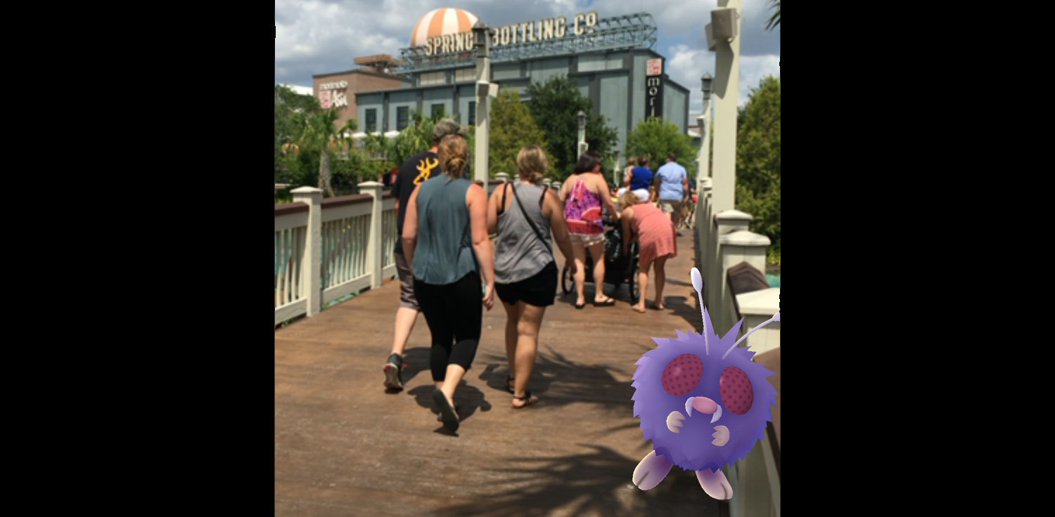 Pokemon at Disney Springs