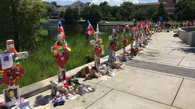 49 Pulse tribute crosses on Orlando Health campus moving to History Center