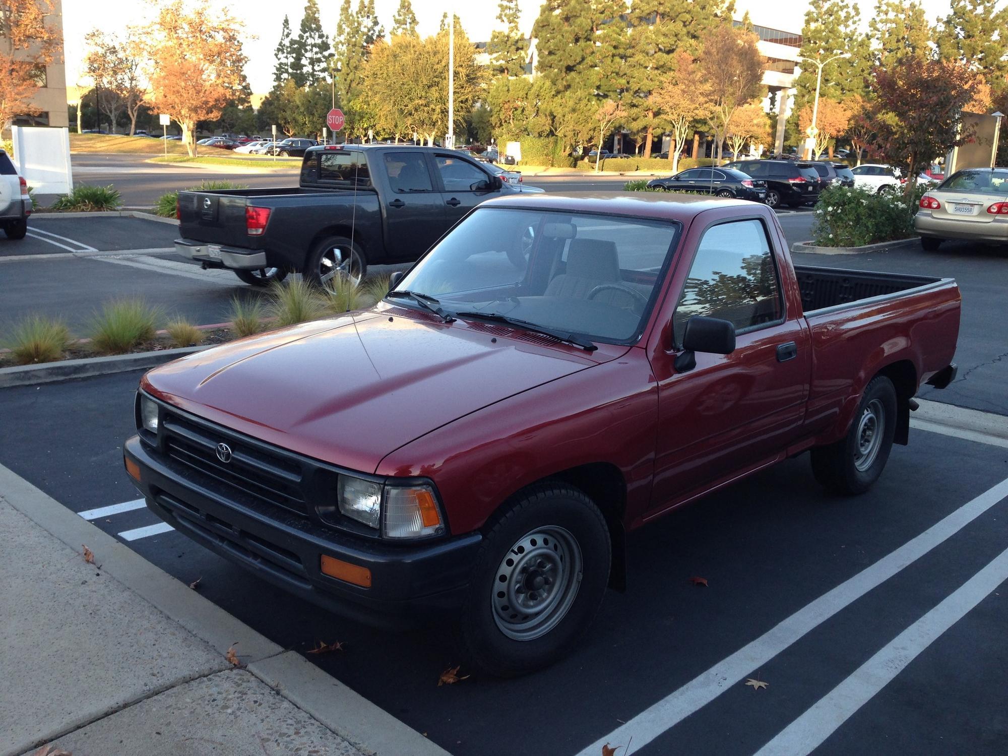 Rep. Loretta Sanchez still owns the Toyota pickup she bought in 1992.