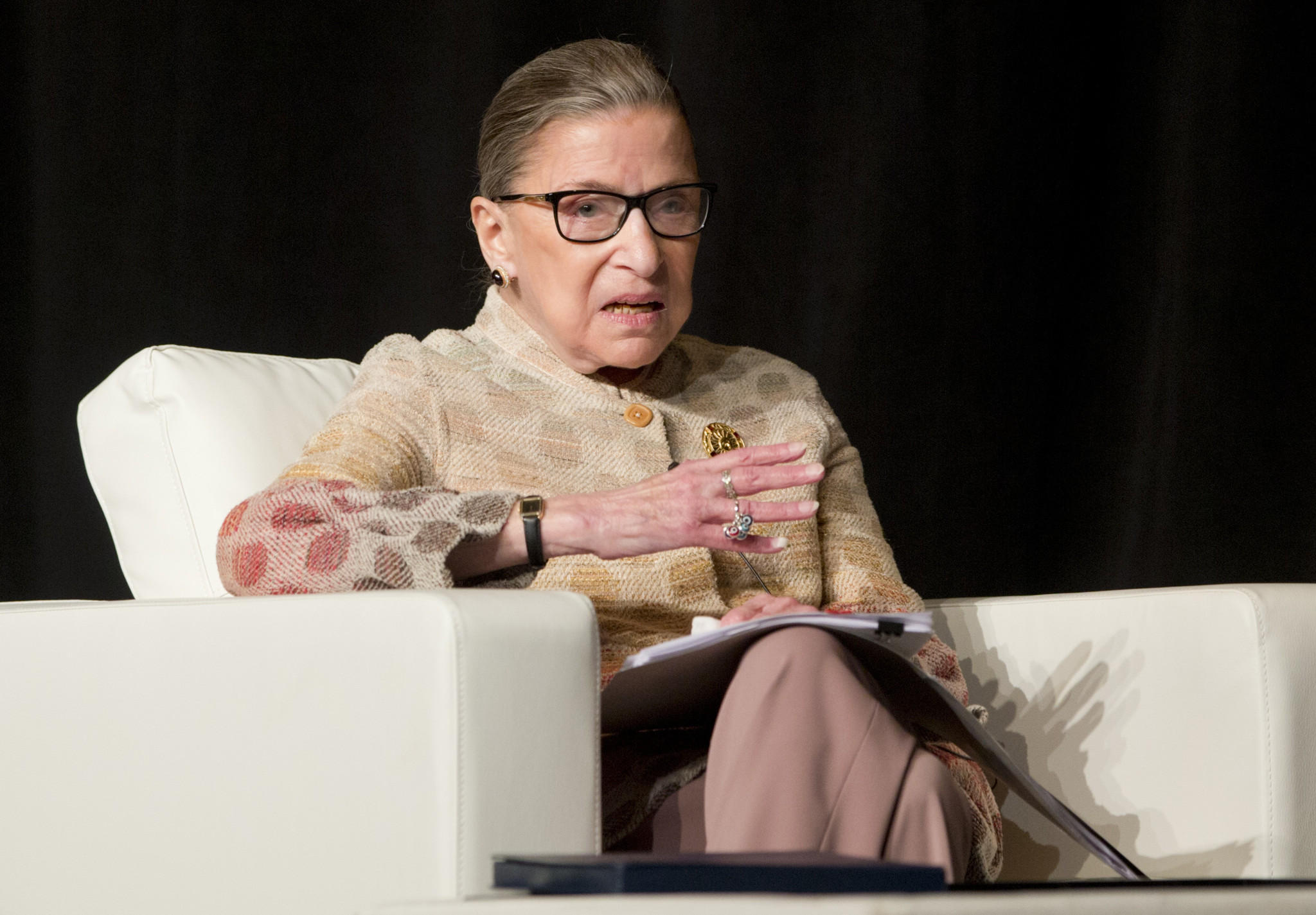 The public feud of Ginsburg vs. Trump casts harsh spotlight on court's liberal lion