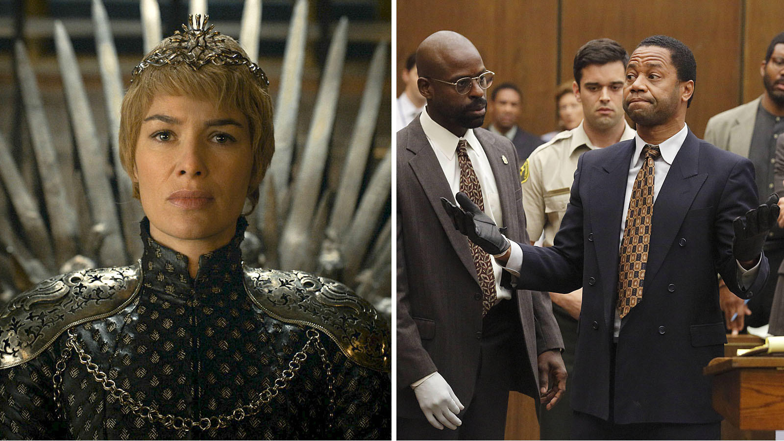 """""""Game of Thrones"""" and """"The People v. O.J. Simpson: American Crime Story"""" (Handout)"""
