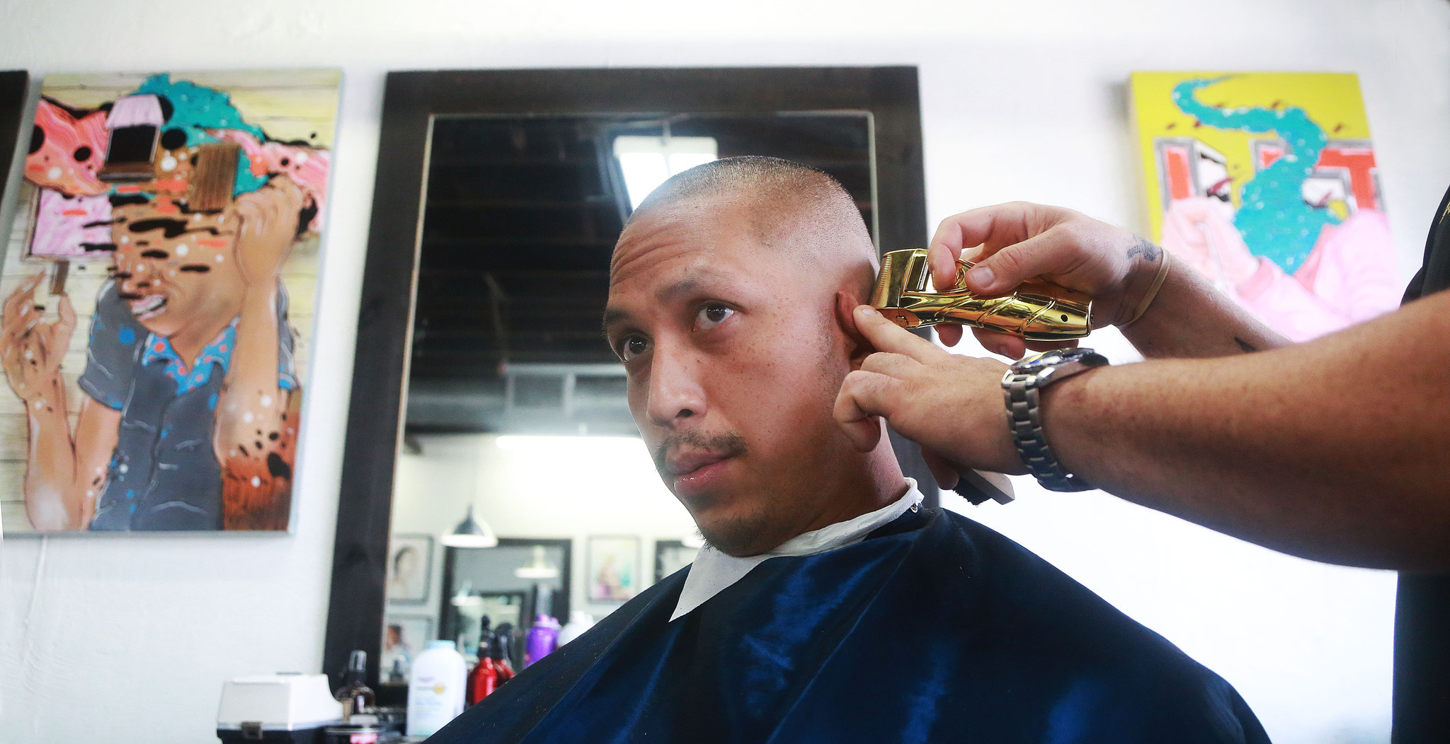 Fat Village Barbershop Redefines The Art Of A Haircut Sun Sentinel