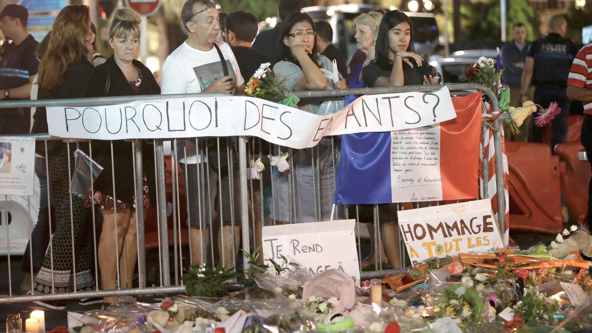 'Why the children?' (Claude Paris / Associated Press)