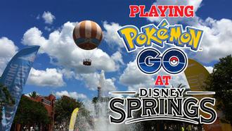 30+ Pokemon Go stops at Disney Springs make for a geek utopia