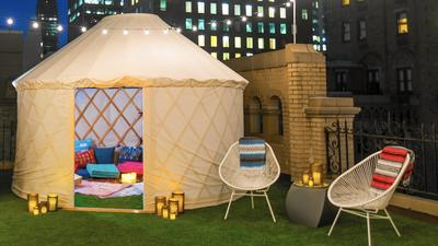 Glamping for $2,000 a night in Manhattan