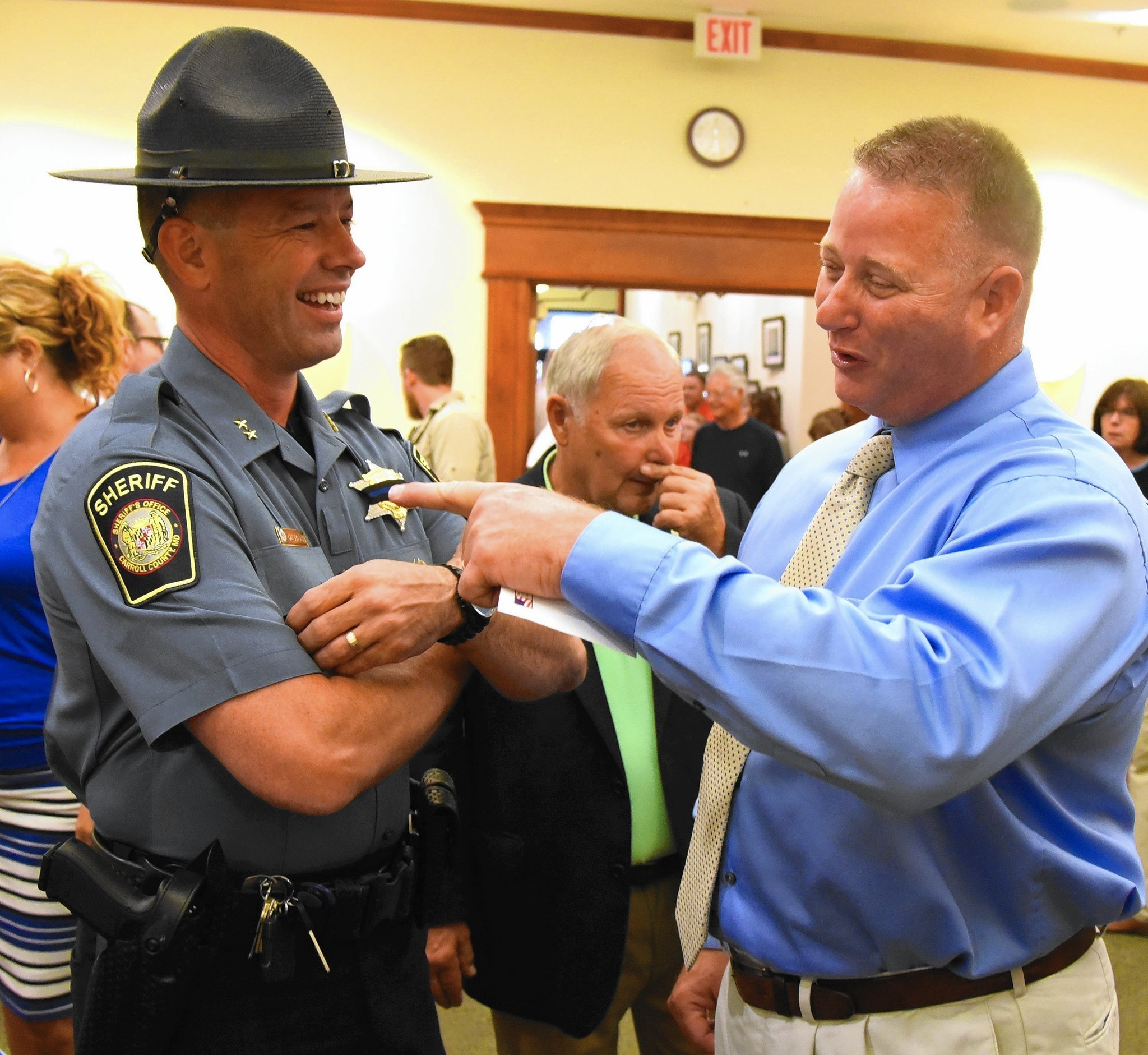 New Mount Airy Police Chief Introduced To Community