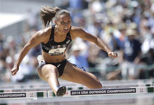 Hurdler Lolo Jones scratched from U.S. Olympic track and ...