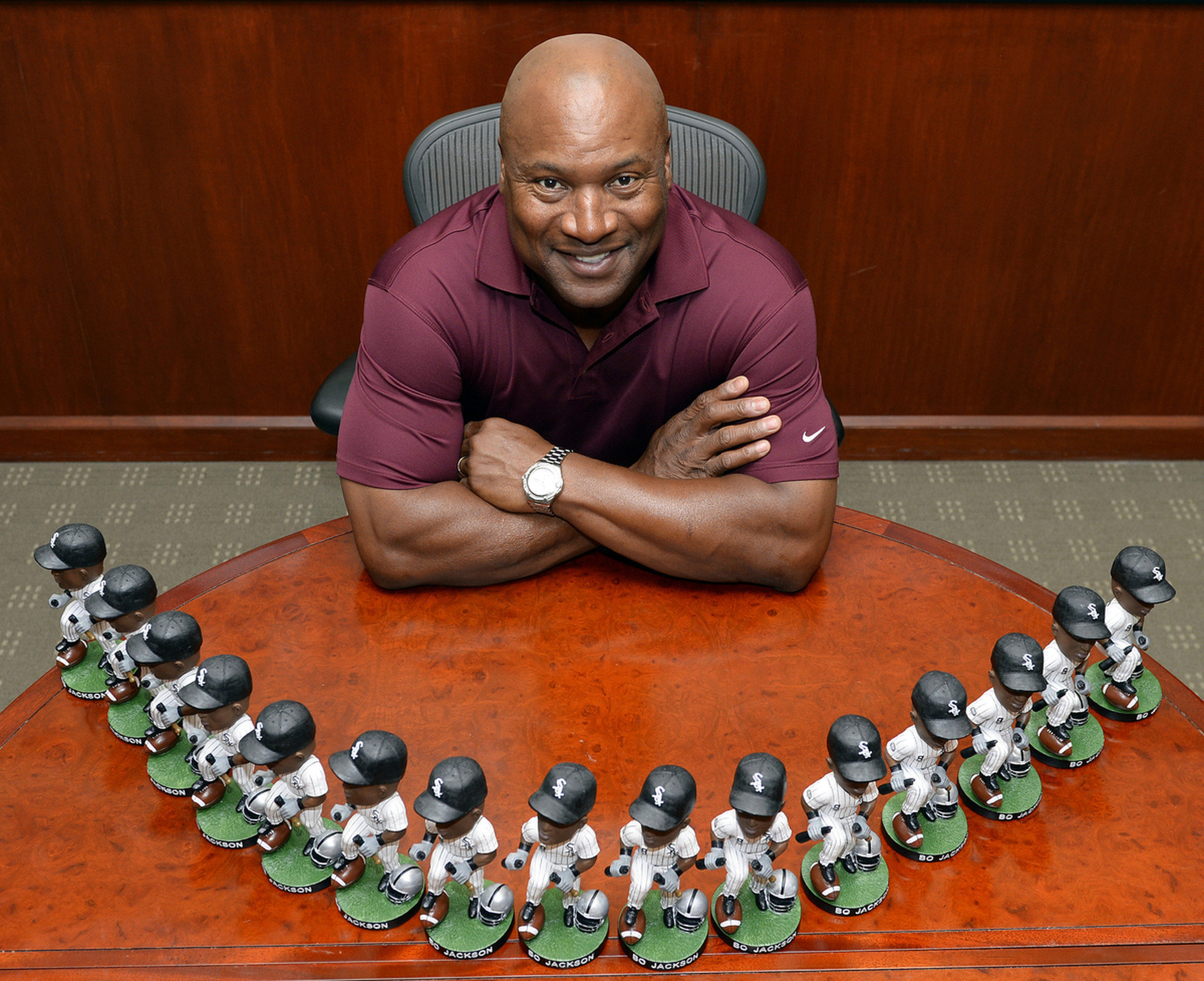 now bo jackson also knows bobbleheads