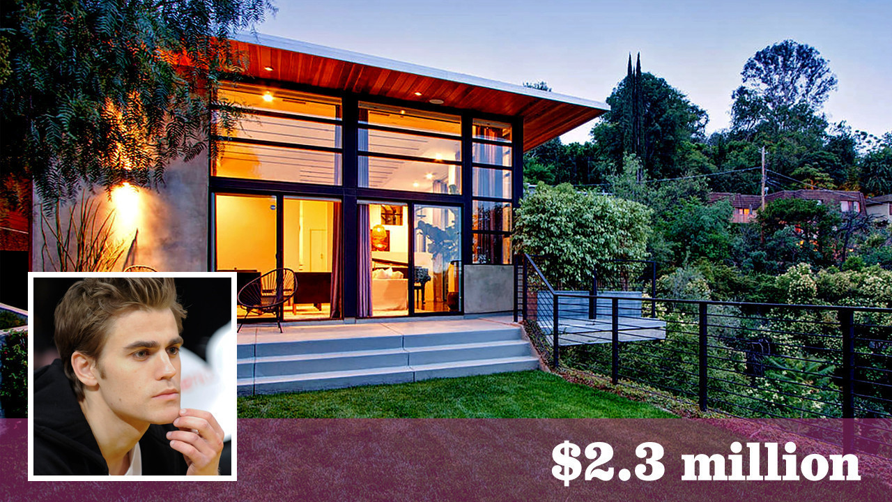 Actor paul wesley makes quick work of selling studio city for Wesley house