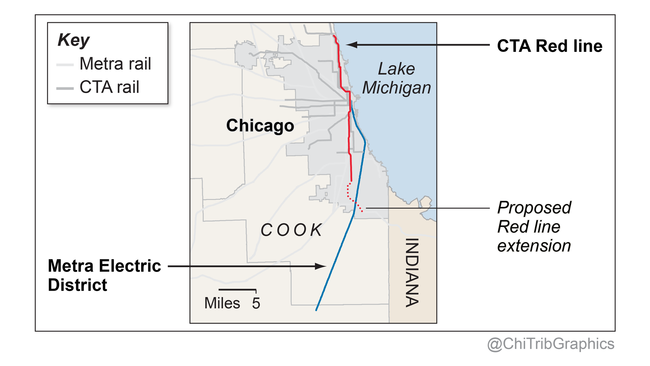 South Side\'s transit desert: More trains would be a lifeline ...