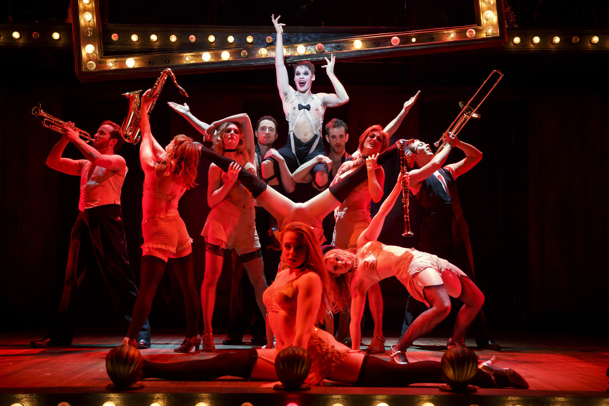 """a summary of the story of the musical cabaret Maybe tomorrow belongs to a different kind of """"cabaret  one of the great  musicals, thanks to the story's steady historical creep and the john."""