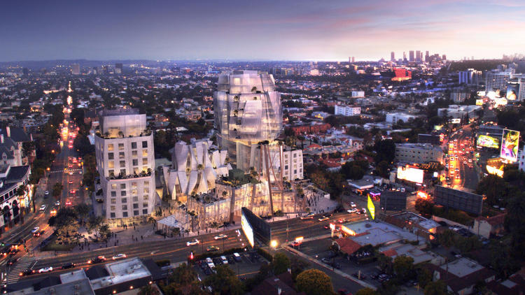 A rendering of one of the proposed developments. (Visualhouse)