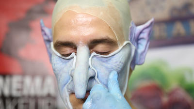 Inside Cinema Makeup School at Comic-Con