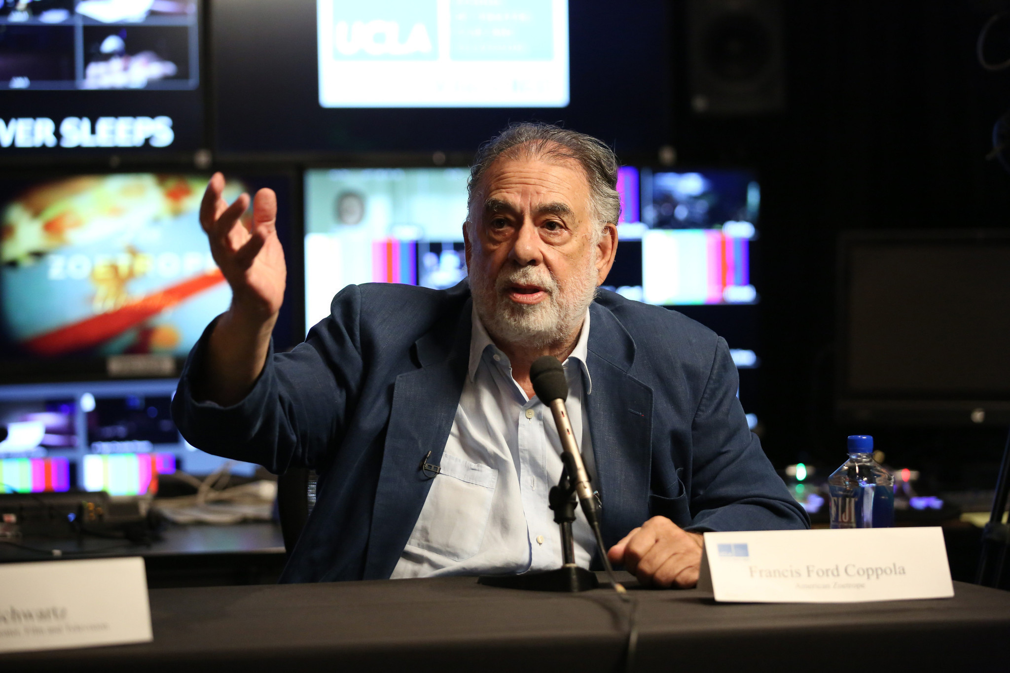 Francis Ford Coppola brings experimental 'Live Cinema' workshop to UCLA
