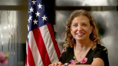 Debbie Wasserman Schultz through the years