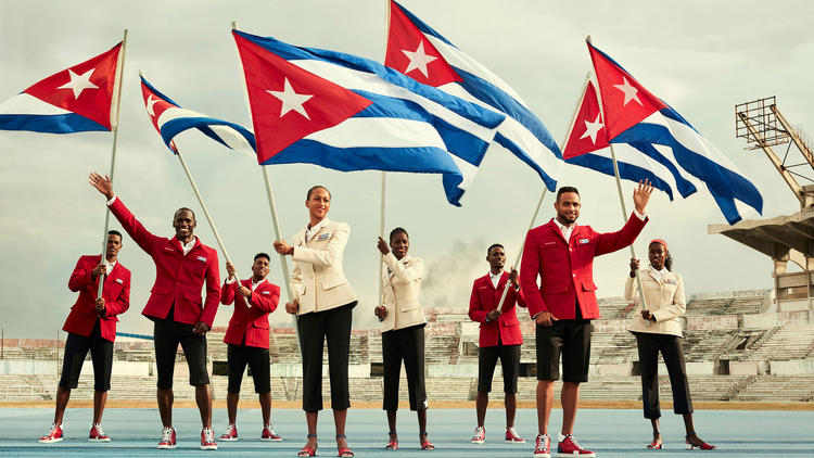 Christian Louboutin, SportyHenri create Cuba's 2016 Olympic uniform