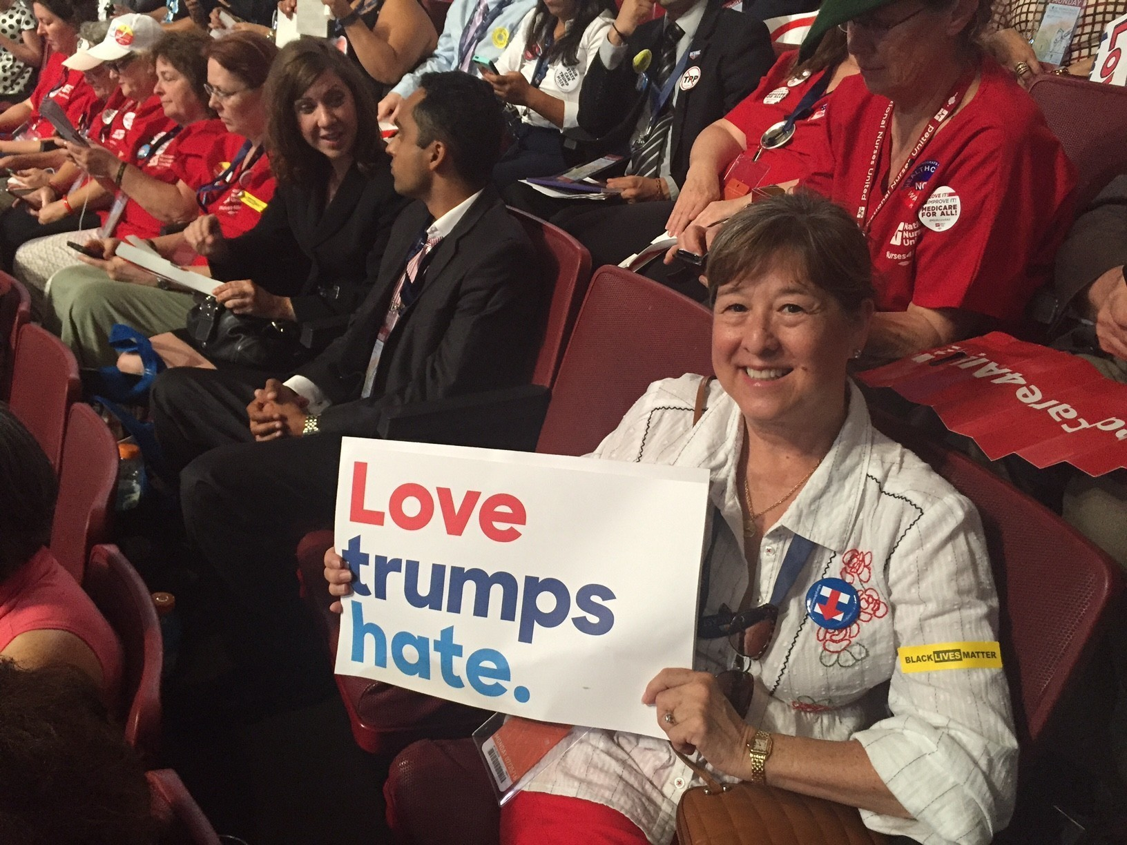 'You could actually hear the glass ceiling breaking': voices of the Democratic National Convention