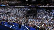 After turmoil, Sanders, Michelle Obama, Warren thrill convention